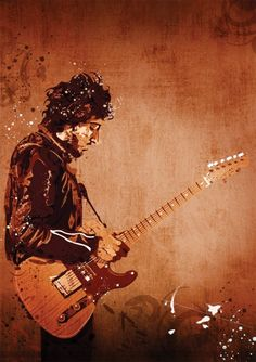 Bruce Springsteen. via Etsy.