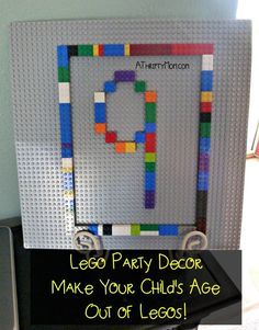 lego party decor, ma