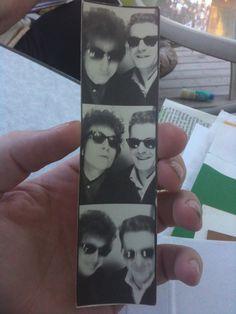 Bob Dylan, Bill Avis, Photo Booth shot from 1965