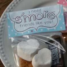 S'more Valentine printable - @Amy @ this DIY life