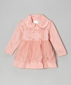 Take a look at this Pink Ruffle Button Dress - Toddler & Girls by Blossom Couture on #zulily today!