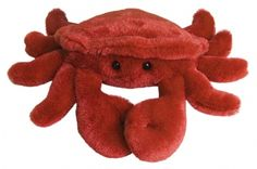 Crab (Mini Flopsie) at theBIGzoo.com, a toy store with over 12,000 products.