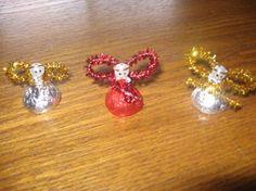 KID Craft: Christmas Angel Hershey Kiss Ornament Craft from Food.com:   I