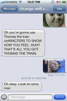 The Web Babbler: Funny Texts #50