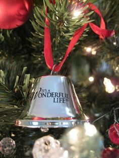 Indeed...It's a wonderful life!  #Christmas  #Ornaments