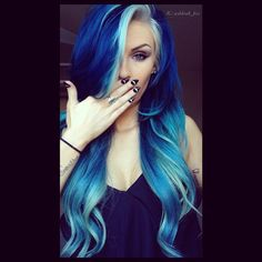 Sexy and serene seafoam mermaid blue!