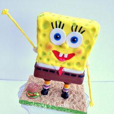 Standing 3D Spongebob