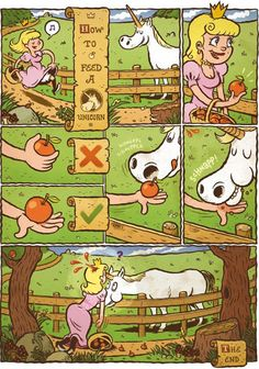 How to feed a Unicorn.