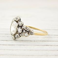 Vintage engagement ring by aurelia