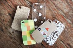 An easy way to make your own iPhone cases