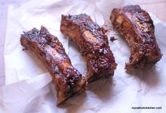 Balsamic Braised Beef Ribs