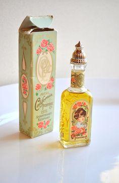 Vintage Avon Perfume 1976 Keepsake Edition Bottle