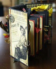 G45 mini book made with Joni Russell of Mrs. O'Learys in Wichita KS