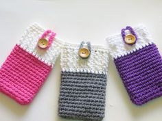 Mobile Phone Cozy or Case Crochet Pattern,