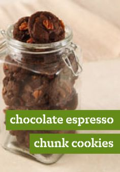 Chocolate Espresso Chunk Cookies