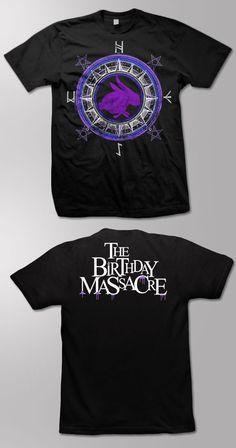 THE BIRTHDAY MASSACRE -Compass- T-Shirt -  https://www.kt8merch.com/store/pages/9572/The_Birthday_Massacre.htm