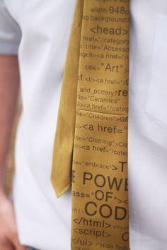 Homemade Tie!