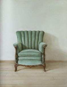 chair, used green