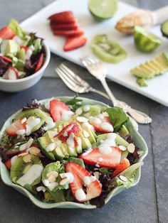Eating clean doesn't have to mean boring food.  Check out these exciting clean healthy salad recipes