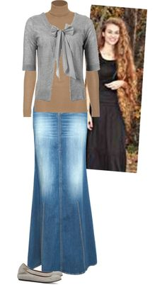 """Modest Outfit 60"" by christianmodesty ❤ liked on Polyvore"