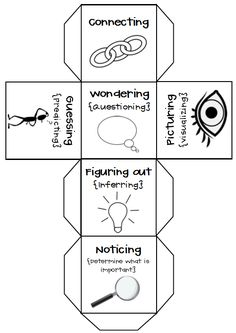 Reading Strategy Cube - Great for guided reading/strategy groups!  FREEBIE!