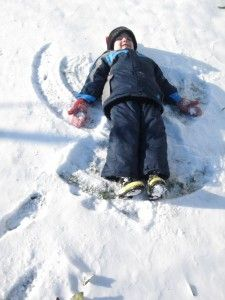 snow science experiment