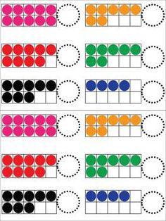 ten frame, journal pages, math journals kindergarten