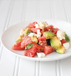 From Calculu∫ to Cupcake∫   Watermelon Salad   http://www.fromcalculustocupcakes.com
