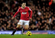 Ryan Giggs Manchester United You have to admire a 38 year old playing at his caliber in today's fast pace EPL! Starting and playing full games regularly too.
