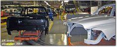 Dodge Ram Truck factory assembly line