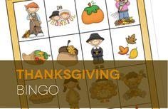FUN Thanksgiving BINGO! Fun Thanksgiving dinner game!