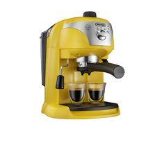 Buy DELONGHI ECC220 Espresso Machine - Yellow | Free Delivery | Currys