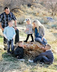 Salt Lake City family pictures with mountains/fields Photo Credit: Charis Johnson Photography
