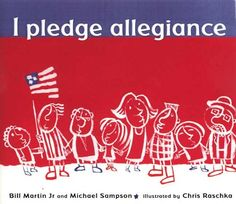 """Wolf Achievement 2a: Say the Pledge of Allegiance and Tell What It Means.  This is a children's Book written by the author of """"Brown Bear, Brown Bear"""".  It explains the Pledge using words kids can understand."""