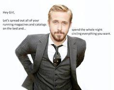 Hey girl Ryan Gosling running clothes fitness runspiration