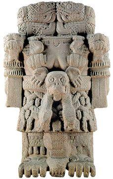 Coatlicue - Diosa de la Tierra, de la vida y la muerte (Aztec goddess of the Earth, of life & death