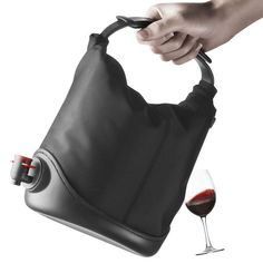Wine purse haha. Would be a great gift ...