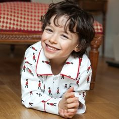 Grenadier Guards Button-up Boys Pyjamas