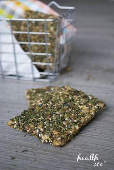 Gluten-free chia crackers |www.health360.fi