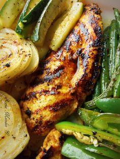 Grilled Jalapeño Garlic Chicken