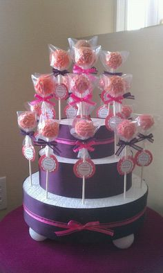 styrofoam cake pop stand reusable stand by exactlysweet on Etsy, $29.99