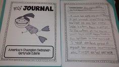 America's Champion Swimmer: Gertrude Ederle Journal  One Extra Degree