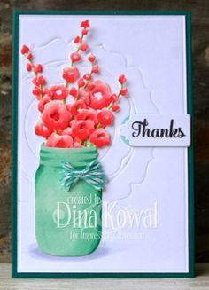 Mama Dini's Stamperia: Jar of thanks