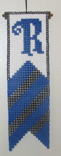 Ravenclaw Banner Harry Potter hama perler beads by Keely Jade