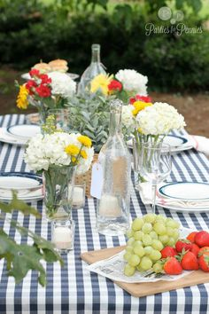 This beautiful table (with party planning tips) makes me yearn for springtime to arrive quickly! via @Mari Penton-Oliver for Pennies