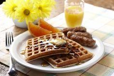fleischmann yeast, yeast waffl, thing food, breakfast recip, waffle recipes, bread, overnight waffl, foodi central, brunch recip