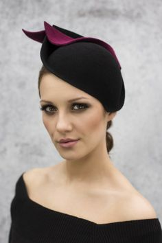 AW 2014 Cocktail Hat, Maggie Mowbray Millinery