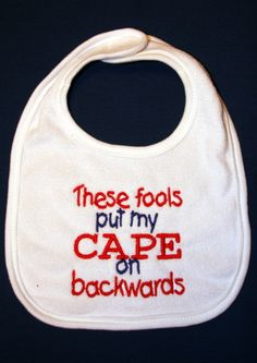 These fools put my CAPE on backwards by KenaKreations on Etsy, $7.00