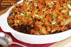 Melissa's Southern Style Kitchen: Chili Cheese Frito Pie
