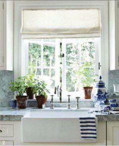 window above sink